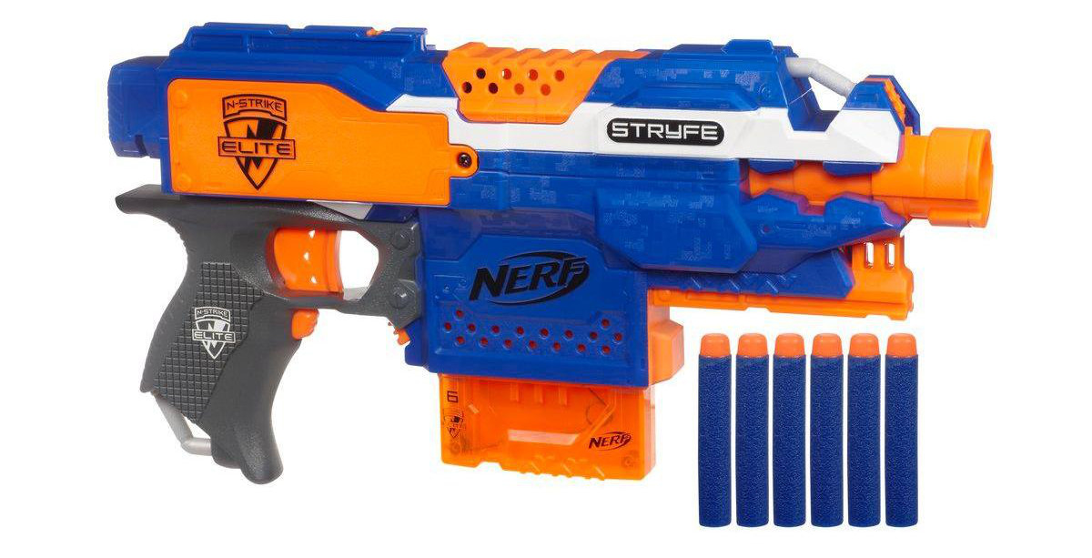 test nerf elite stryfe nerfpassion. Black Bedroom Furniture Sets. Home Design Ideas