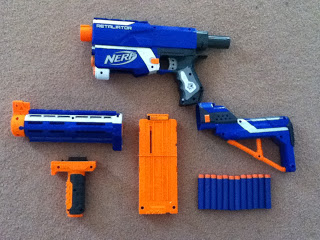 test nerf retaliator nerfpassion. Black Bedroom Furniture Sets. Home Design Ideas