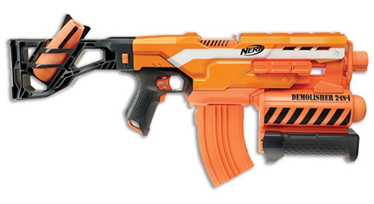 test nerf demolisher 2 en 1 xd nerfpassion. Black Bedroom Furniture Sets. Home Design Ideas